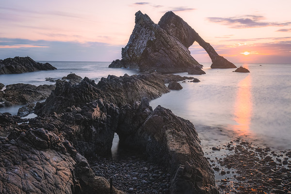 Bow Fiddle Rock, Scotland