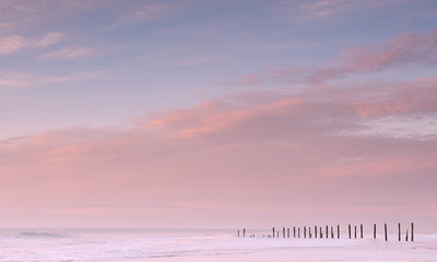 Sunrise . Spurn Point