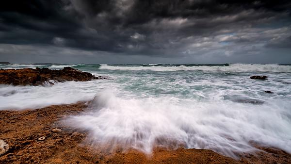 Mistral storm (Western Sardinian Coast)