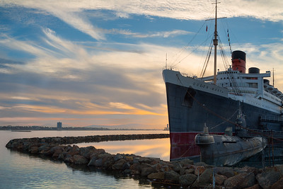 The Queen Mary and Sub