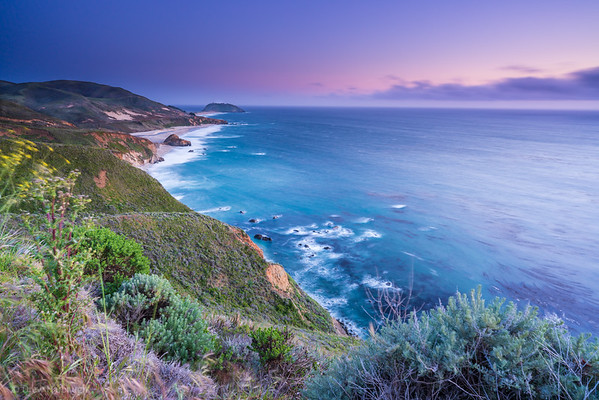 Big Sur Sunset Blues