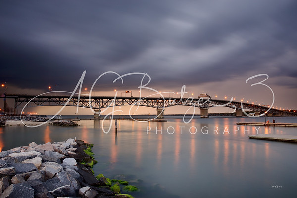 The George P. Coleman Memorial Bridge, Yorktown, Virginia