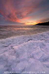 Red Sky on Ice