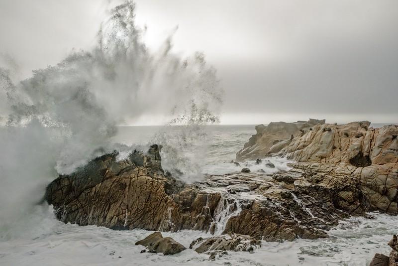 Splashing Wave, Salt Point, California
