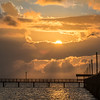 Rockport Pier Fisherman Sunrise