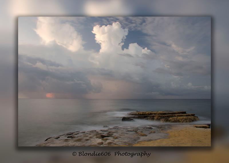 Stormy Skies at Dreamers Bay , Cyprus
