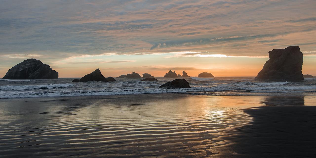 Bandon Beach Sunset
