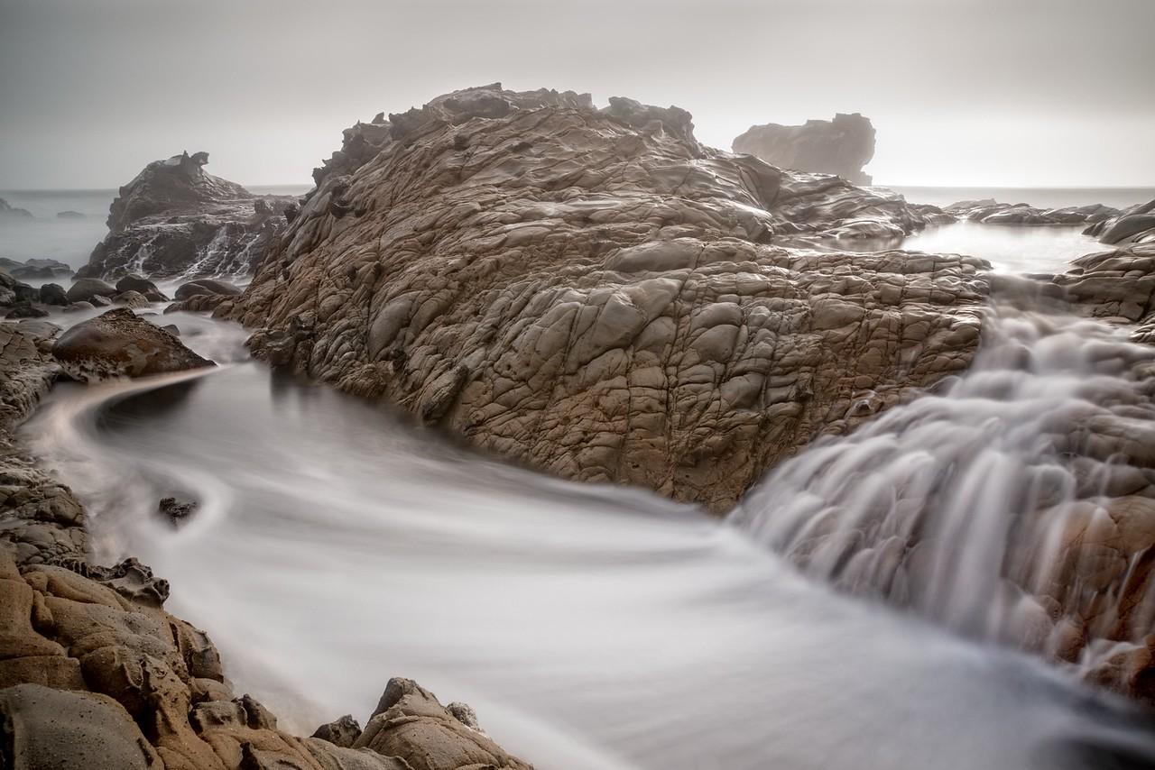 Ocean Cascade, Salt Point, California