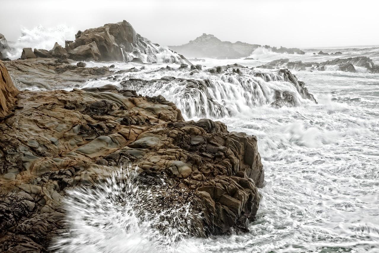 Splash & Crashing Wave, Salt Point, California