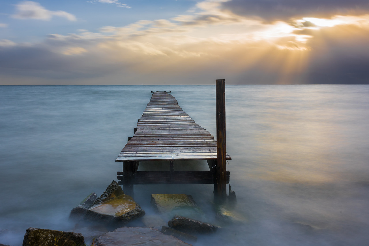 Pier Walkway to Heaven