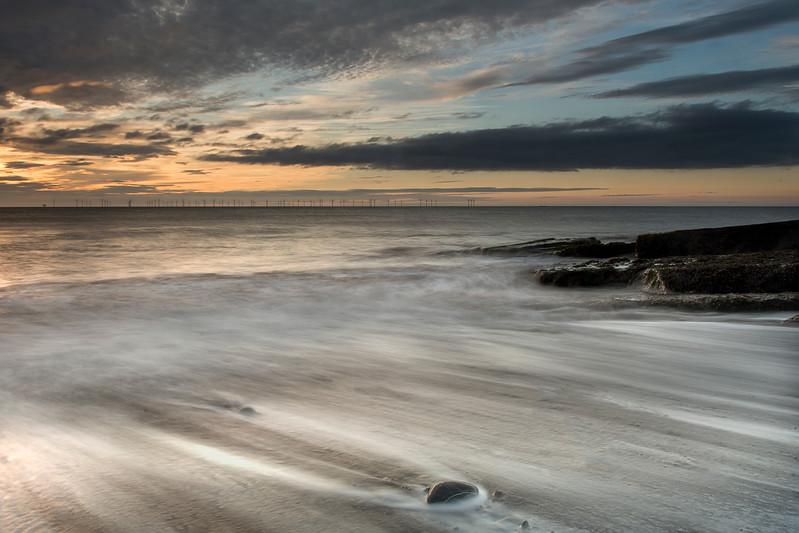 Dawn Breaks . Spurn Point