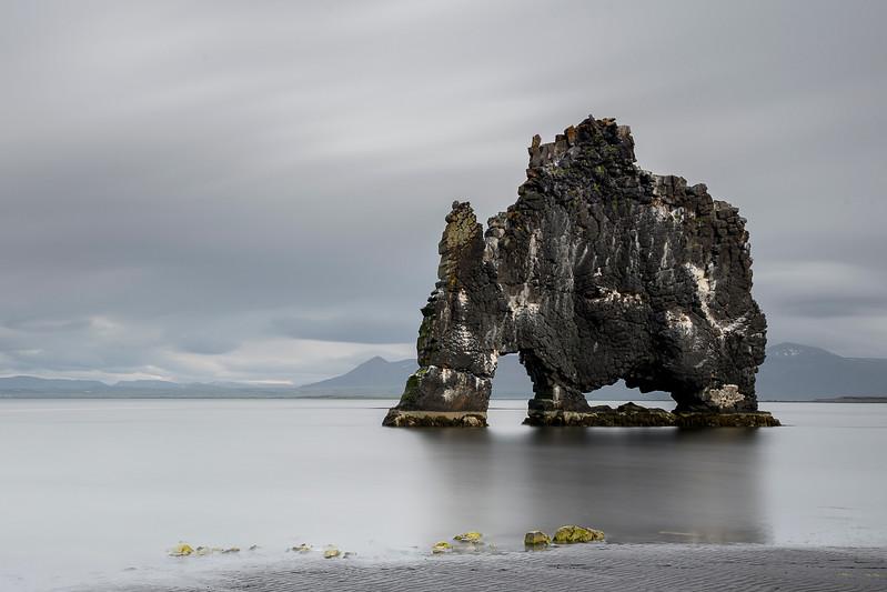 Giant in the Sea , Hvitserkur , Iceland