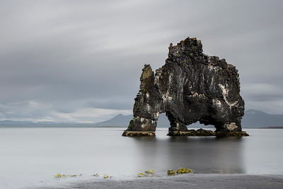Giant in the Sea , Hvitserkur , Iceland