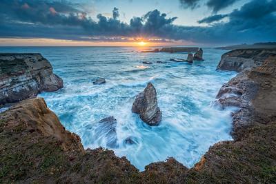 Sea Loin Cove, Storenetta Land, Point Arena, California