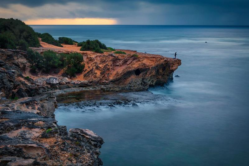 Sandstone Point at dawn
