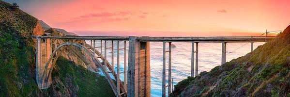 Bibxy Bridge Sunset