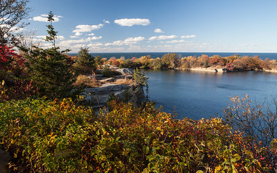 Former quarry at Halibut Point State Park