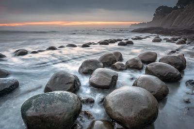 Bowling Ball Beach, Study 5 , Mendocino County, California