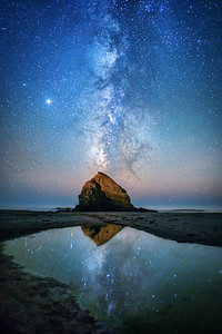 St Orres Beach Cosmic Tide Pool, Gualala, California