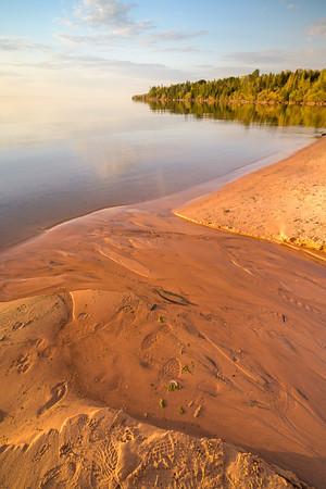 Sunset in Cornucopia