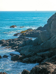 Pigeon Point rocks
