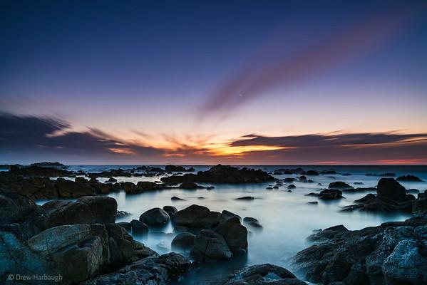 Venus and Sunset, Monterey