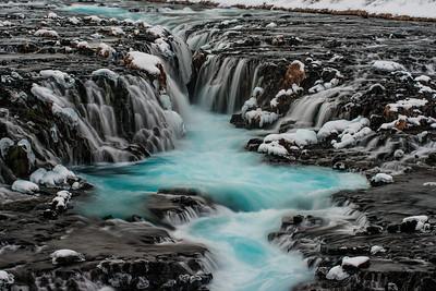 Bluer Snowier Falls