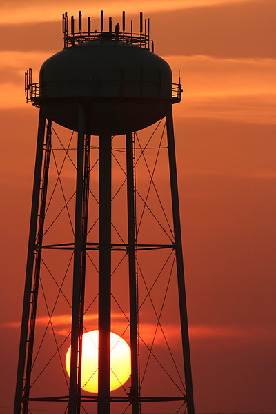 """Topsail Water Tower Sunrise"""