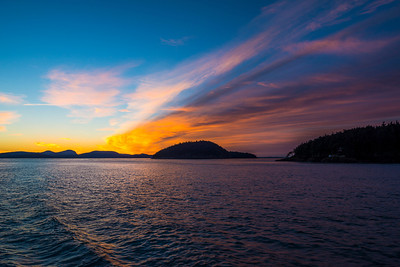 sunrise over James Island