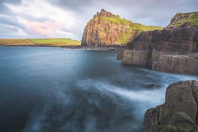 Duntulm Castle. Isle of Skye, Scotland