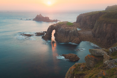 Land's End. Cornwall, England
