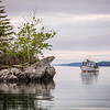 Boat at Lookout Point, West Harpswell, ME