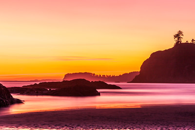 Glowing Ruby Beach