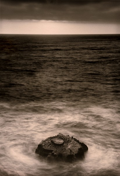 The Rock, Study 2, Mendocino Coast, California