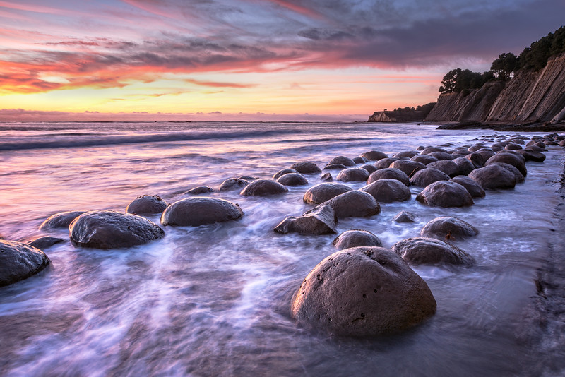 Bowling Ball Beach, Study 7, Mendocino County, California