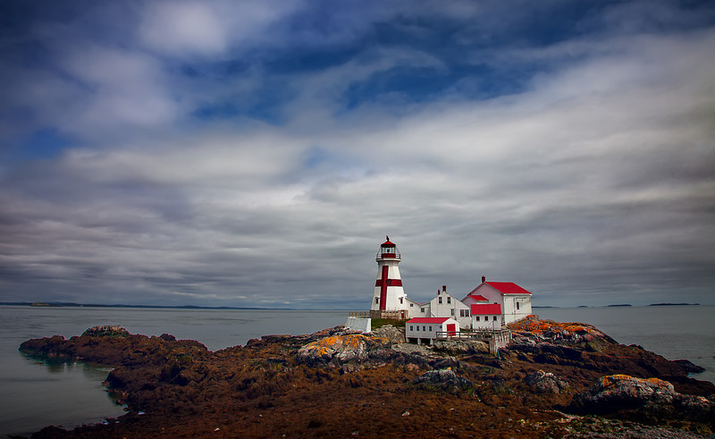 East Quoddy Lighthouse aka Head Harbor Lighthouse, Campbello Island, New Brunswick (May 2014)