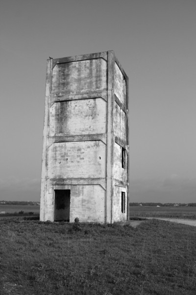 """Observation Tower Black and White"" #27"