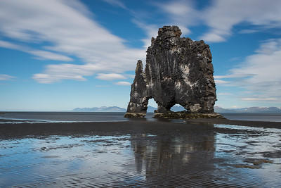 Giant on the Shore . Hvitsekur , Iceland