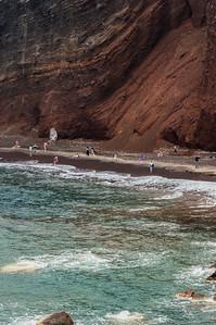 Marcianos en la playa