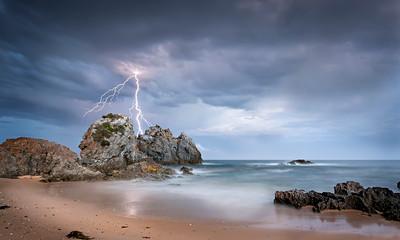 Camel Rock Lightning, Australia