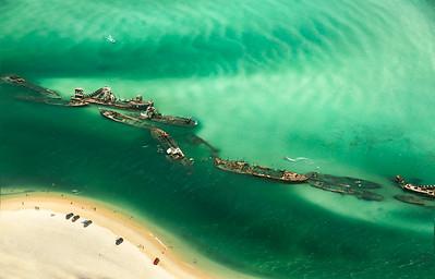 Moreton Island Wrecks - Australia