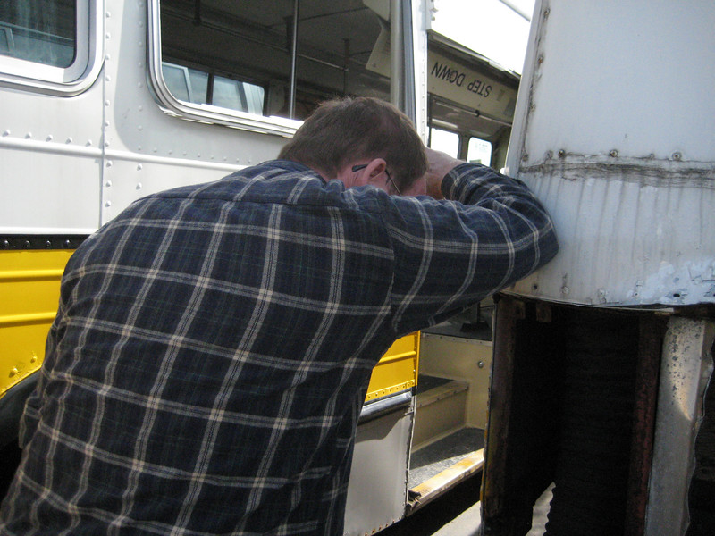 Danny mourns the loss of all these tracklesses, he just can't take the sight of all those buses getting torn apart.