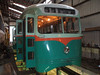 Washington D.C. PCC 1304 under restoration at the Townhouse shop, the interior is being prepared for a new paint job.