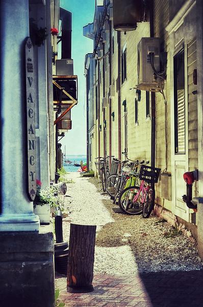 bike parking...