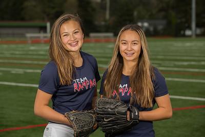 Jetta and Paige Softball