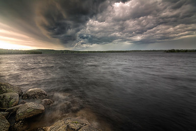 Lake Massabesic Storm