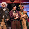 Casey Andree, Justin Walvoord, and Brian Kusic in BETC's production of Every Christmas Story Ever Told (and then some!). Photo: Michael Ensminger.