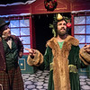 Justin Walvoord and Brian Kusic in BETC's production of Every Christmas Story Ever Told (and then some!). Photo: Michael Ensminger.