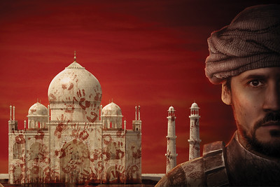 Sam Gilstrap stars in Guards at the Taj by Rajiv Joseph, directed by Stephen Weitz. Photography by Michael Ensminger, graphics illustration by Brian Kolodziejski.