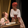 Rebecca Remaly and Jada Suzanne Dixon in The Revolutionists by Lauren Gunderson (photo: Michael Ensminger)